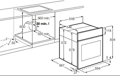 aeg bp7004101m backofen test 2018. Black Bedroom Furniture Sets. Home Design Ideas
