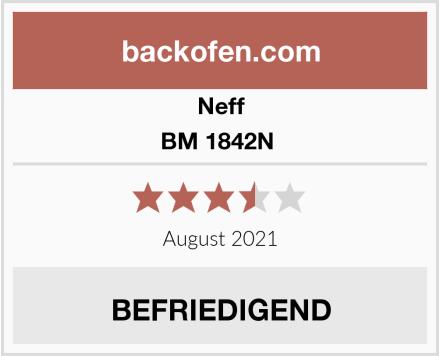 Neff BM 1842N  Test