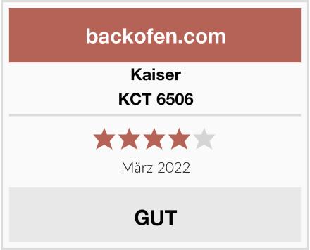 Kaiser KCT 6506 Test