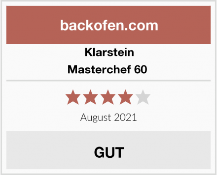 Klarstein Masterchef 60  Test