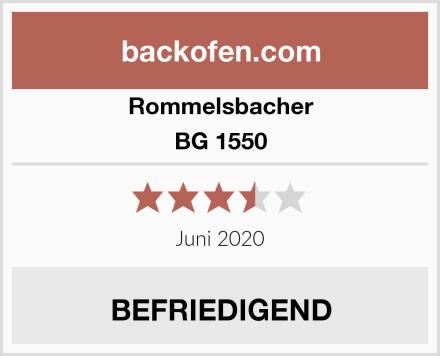 Rommelsbacher BG 1550 Test
