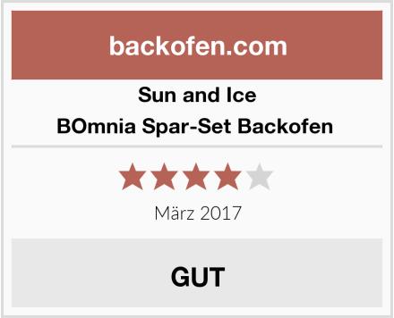 Sun and Ice BOmnia Spar-Set Backofen  Test