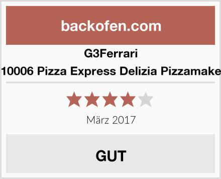 G3Ferrari G10006 Pizza Express Delizia Pizzamaker  Test