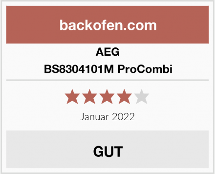 AEG BS8304101M ProCombi Test