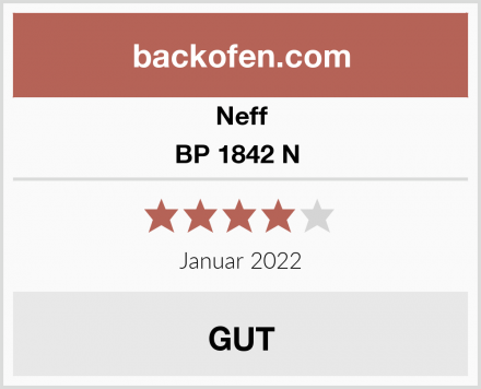 Neff BP 1842 N  Test