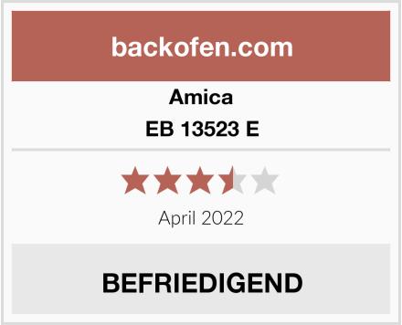 Amica EB 13523 E Test