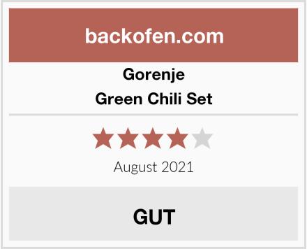 Gorenje Green Chili Set Test