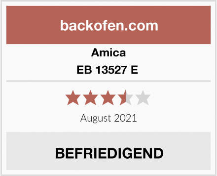 Amica EB 13527 E  Test