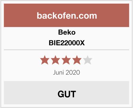 Beko BIE22000X Test