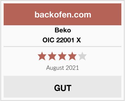 Beko OIC 22001 X  Test