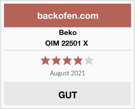 Beko OIM 22501 X  Test