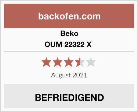 Beko OUM 22322 X  Test