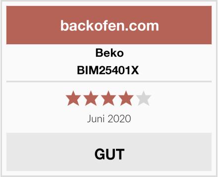 Beko BIM25401X  Test