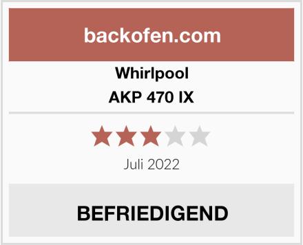 Whirlpool AKP 470 IX Test