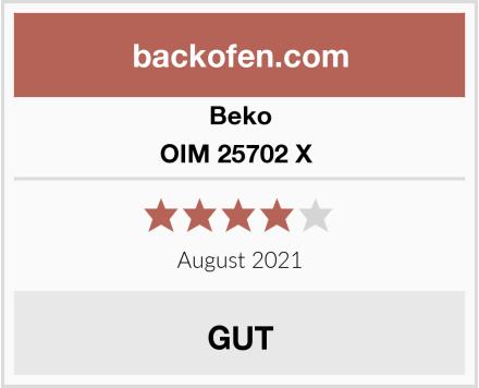 Beko OIM 25702 X  Test