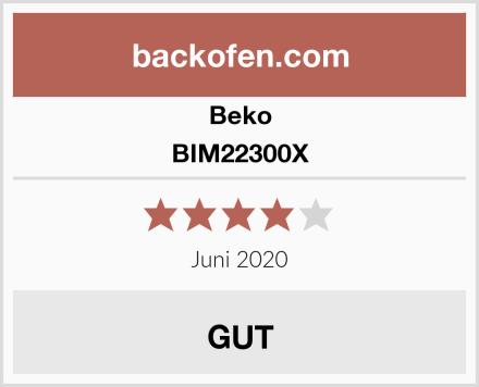 Beko BIM22300X Test