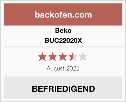 Beko BUC22020X Test