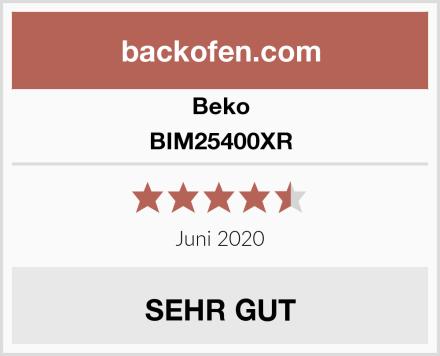 Beko BIM25400XR Test