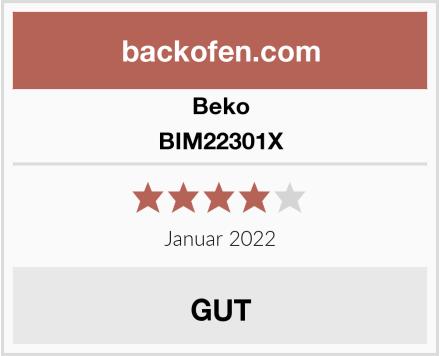 Beko BIM22301X Test