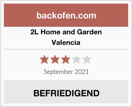 2l home and garden valencia backofen test 2017. Black Bedroom Furniture Sets. Home Design Ideas