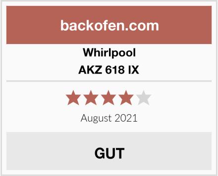 Whirlpool AKZ 618 IX Test