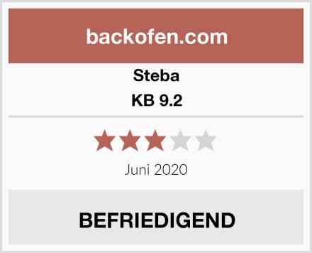 Steba KB 9.2 Test