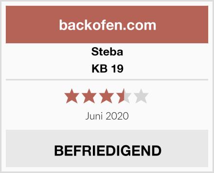 Steba KB 19 Test
