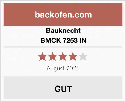 Bauknecht BMCK 7253 IN Test