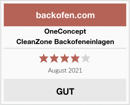 OneConcept CleanZone Backofeneinlagen Test