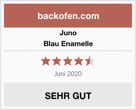 Juno Blau Enamelle Test