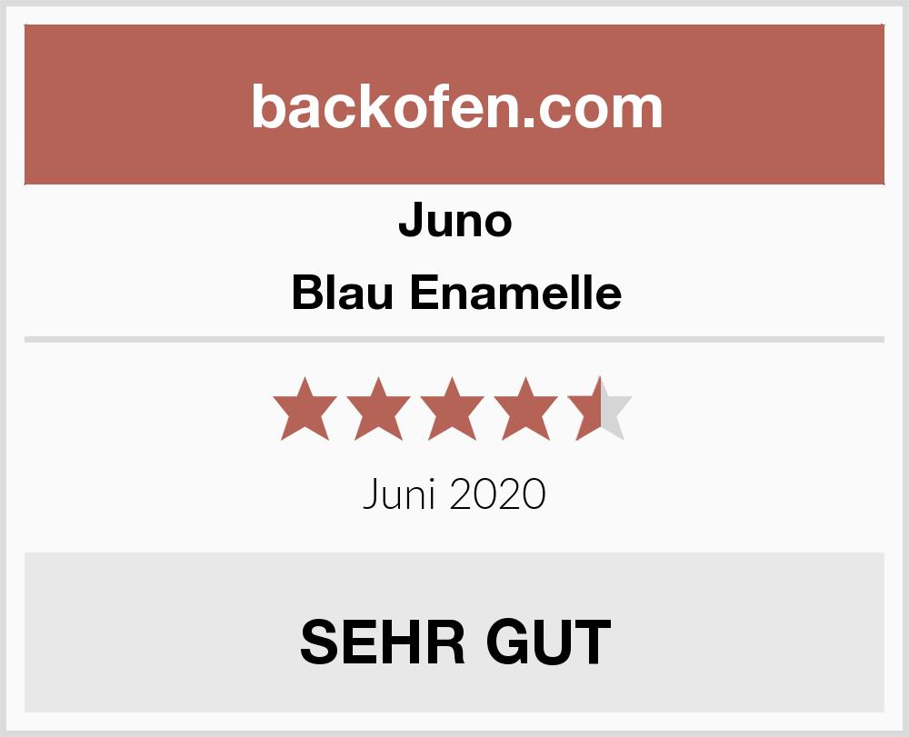 Juno Blau Enamelle