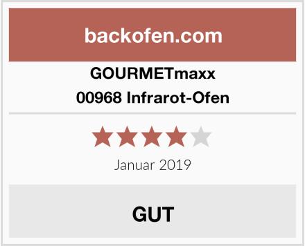 GOURMETmaxx 00968 Infrarot-Ofen Test