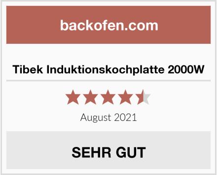Tibek Induktionskochplatte 2000W Test