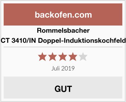 Rommelsbacher CT 3410/IN Doppel-Induktionskochfeld Test