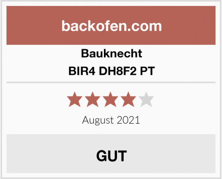 Bauknecht BIR4 DH8F2 PT Test