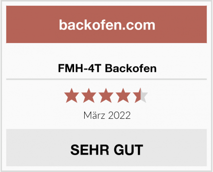 FMH-4T Backofen Test