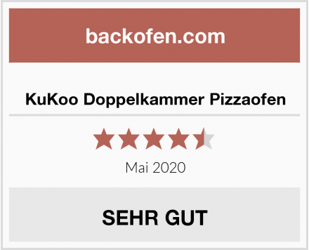KuKoo Doppelkammer Pizzaofen Test