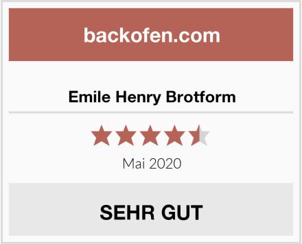 Emile Henry Brotform Test
