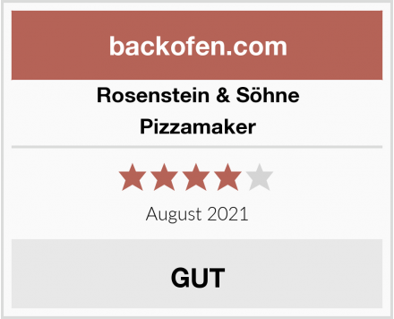 Rosenstein & Söhne Pizzamaker Test