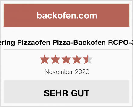 Royal Catering Pizzaofen Pizza-Backofen RCPO-3000-2PS-1 Test