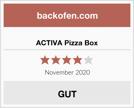ACTIVA Pizza Box Test