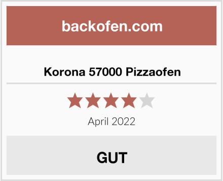 Korona 57000 Pizzaofen Test