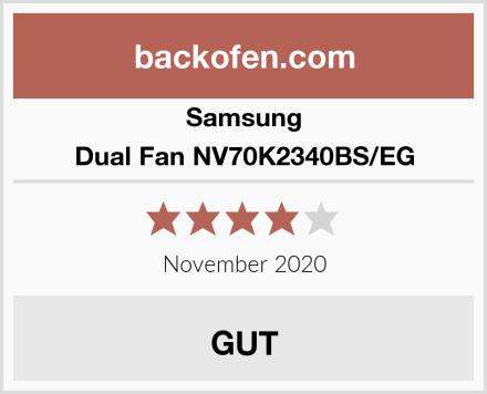 Samsung Dual Fan NV70K2340BS/EG Test