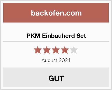 PKM Einbauherd Set Test