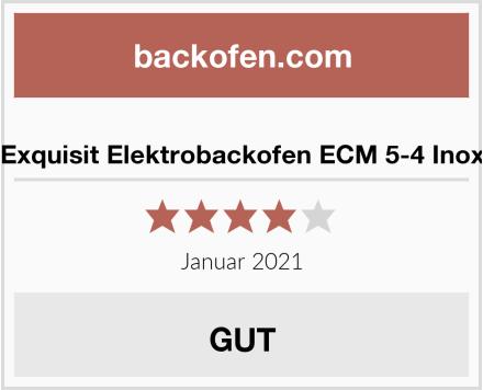 Exquisit Elektrobackofen ECM 5-4 Inox Test