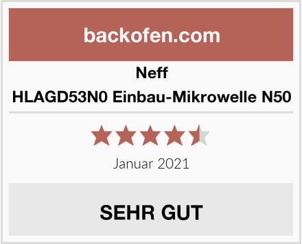 Neff HLAGD53N0 Einbau-Mikrowelle N50 Test