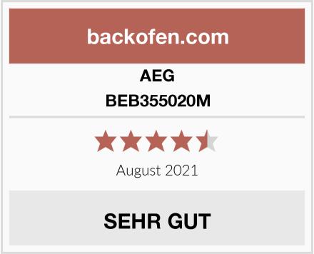 AEG BEB355020M Test