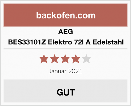 AEG BES33101Z Elektro 72l A Edelstahl Test