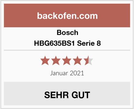 Bosch HBG635BS1 Serie 8 Test
