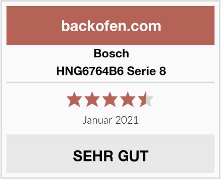 Bosch HNG6764B6 Serie 8 Test